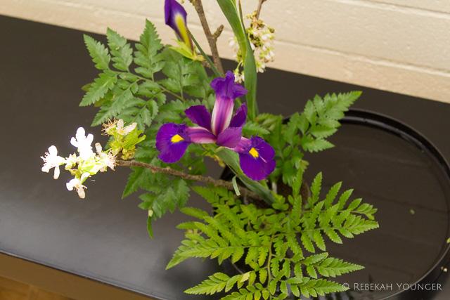 April - Kado Weekend at the LA Shambhala Center - my arrangement