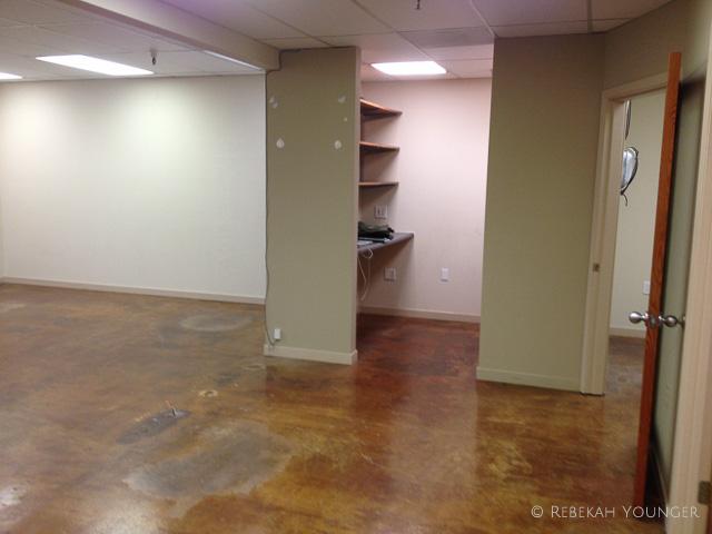 August - Begin design for Live Oak Strength & Nutririon Center in Emeryville from empty space