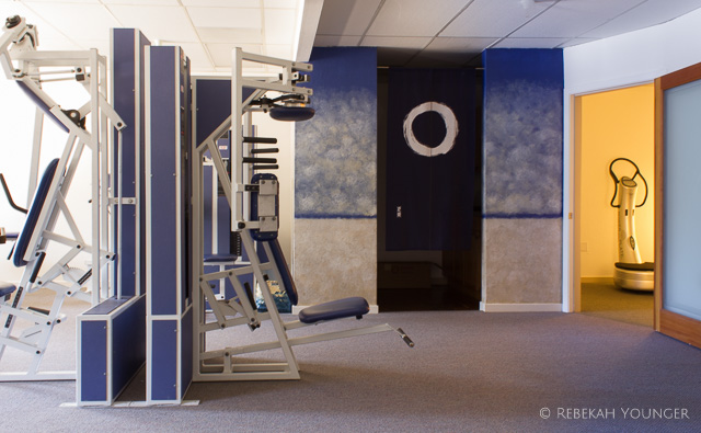 September - Completed Live Oak space with painted mural and equipment placed